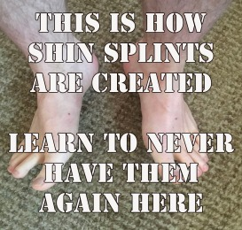 Shine splints never again